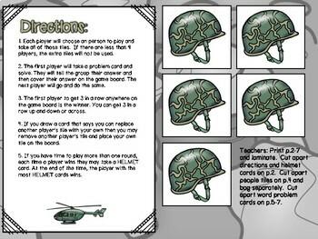 Multiplication & Division Independent Center Game #3