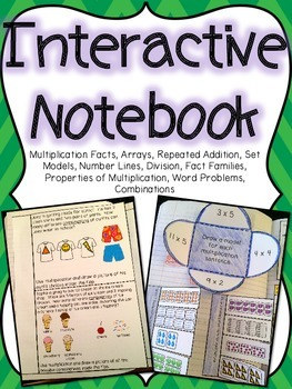 Multiplication & Division Interactive Notebook