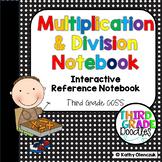 Multiplication & Division Interactive Notebook -- Grade 3