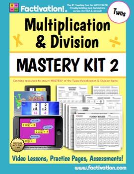 Multiplication/Division Mastery Kit 2