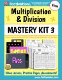 Multiplication/Division Mastery Kit 3