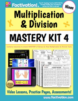 Multiplication/Division Mastery Kit 4