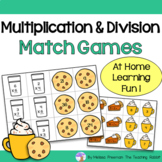 Multiplication & Division Match Games