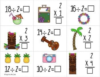 3rd Grade Multiplication & Division Matching Math Games 3.OA.4, 3.OA.6, 3.OA.7
