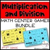 Multiplication & Division Math Centers for Upper Elementar