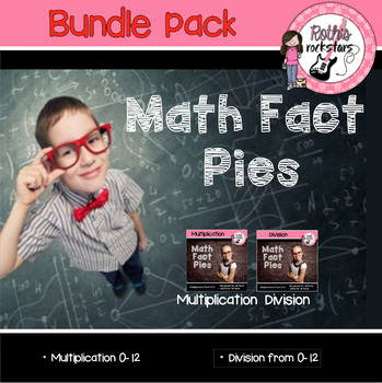 Math Facts Fluency Practice for Multiplication/Division