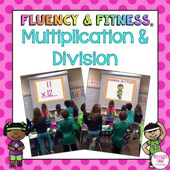 Multiplication & Division Math Facts Fluency & Fitness Bra