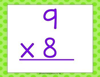 Multiplication & Division Math Facts Fluency & Fitness Brain Breaks Bundle
