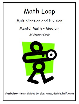 """I Have... Who Has..."" Multiplication & Division (Level - Medium)"