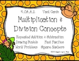 Multiplication & Division Concepts {Math Task Cards}