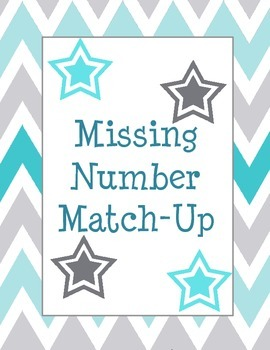 Multiplication Division Missing Number Match-Up Game