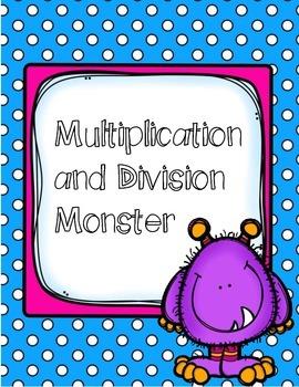 Multiplication Division Monster Craft