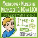 Multiplication & Division: Multiply a Num by Multiples of 10,100,1000 pgs. 28-30
