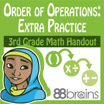 Multiplication & Division: Order of Operations Extra Pract