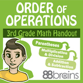 Multiplication & Division: Order of Operations pgs. 50-53