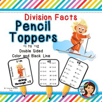 Multiplication & Division Pencil Toppers BUNDLE