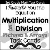 Multiplication & Division Arrays & Pictures Task Cards