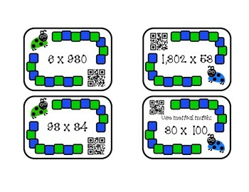 Multiplication & Division QR Game