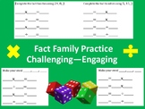 Multiplication Division Relationships Fact Family Practice