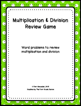 Multiplication & Division Review Game