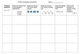 Multiplication & Division Strategies Assessment Pack