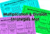 Multiplication & Division Strategies Mat
