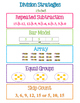 Multiplication & Division Strategies Poster BUNDLE