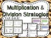 Multiplication & Division Strategies Task Cards (Boom Cards also Included)