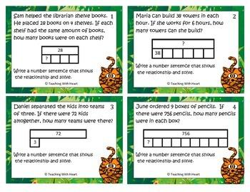 multiplication division strip diagrams tapediagrams scoot rh teacherspayteachers com multiplication and division strip diagrams Venn Diagram Grade 3
