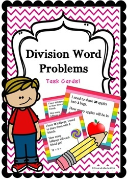 Multiplication & Division Task Card Bundle!