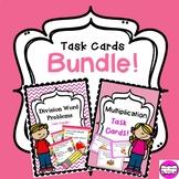 Multiplication & Division Task Card Bundle!