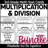 Multiplication & Division Task Cards Bundle