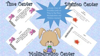 Multiplication, Division, Time Center