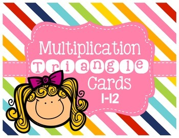 Multiplication/Division Triangle Cards 1-12