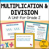 Multiplication & Division Unit (Grade 2)