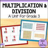 Multiplication & Division Unit for Grade 3 (Ontario Curriculum)