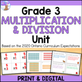 Multiplication & Division Unit (Grade 3)