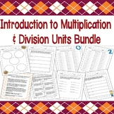 Multiplication & Division Units Combo Pack: An Entire Month of Plans & Homework!