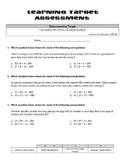 Multiplication & Division (Whole Numbers): Explaining Division with Equations