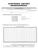 Multiplication & Division (Whole Numbers): Rectangular Arr