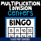 Multiplication & Division Word Problem Centers