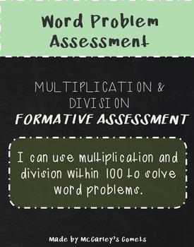 Multiplication & Division Assessment