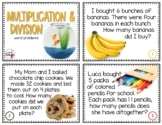 Multiplication & Division Word Problems (3.OA.A3 & 3.OA.D8)