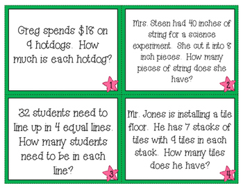 Multiplication & Division Word Problems 3.OA.A.3