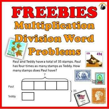 Multiplication Division Word Problems Worksheets Freebies Grade 3 4