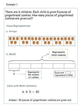 Multiplication Division Worksheets 3rd   4th Grade (Bar Models/Tape  Diagrams)