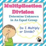Multiplication Division Worksheets 3rd - 4th Grade (Bar Models/Tape Diagrams)