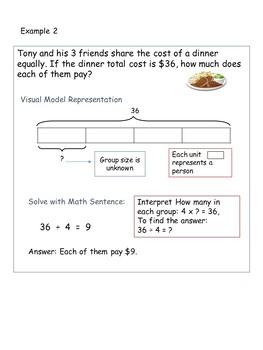 Bar Diagram 3rd Grade