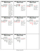 Multiplication & Division with/without Decimals Cue Cards BUNDLE