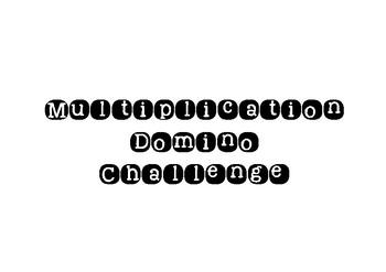 Multiplication Domino Game